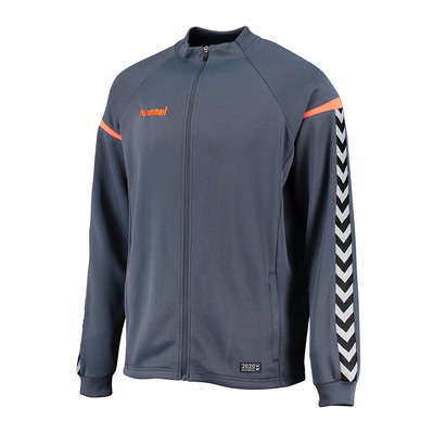 CLUB AUTHENTIC CHARGE - Sweat Homme grey/orange