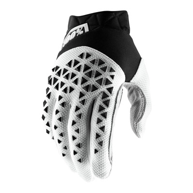 AIRMATIC - Gants black/white/silver