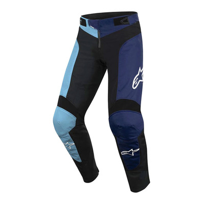 VECTOR - Pantalon Junior black/atoll blue