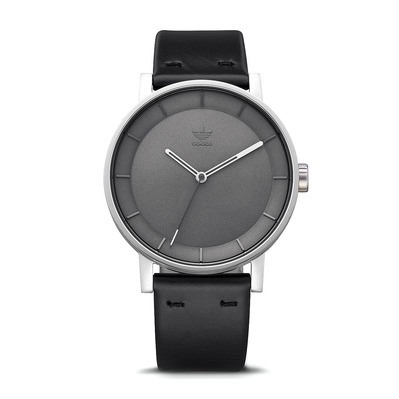 DISTRICT L1 - Montre quartz Homme silver/charcoal/black
