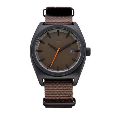 PROCESS W2 - Montre quartz Homme black/branch/orange