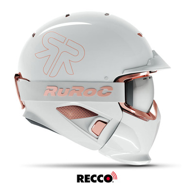 RG-1-DX TRINITY - Casque complet white/rose gold