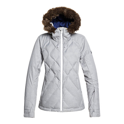 BREEZE - Chaqueta de esquí mujer heather grey