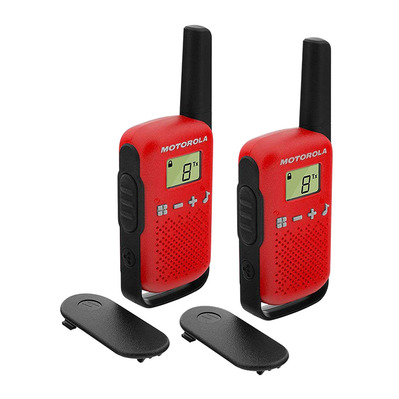 T42 - Walkie-talkies x2 red