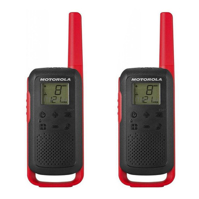 T62 - Walkie-talkies x2 red