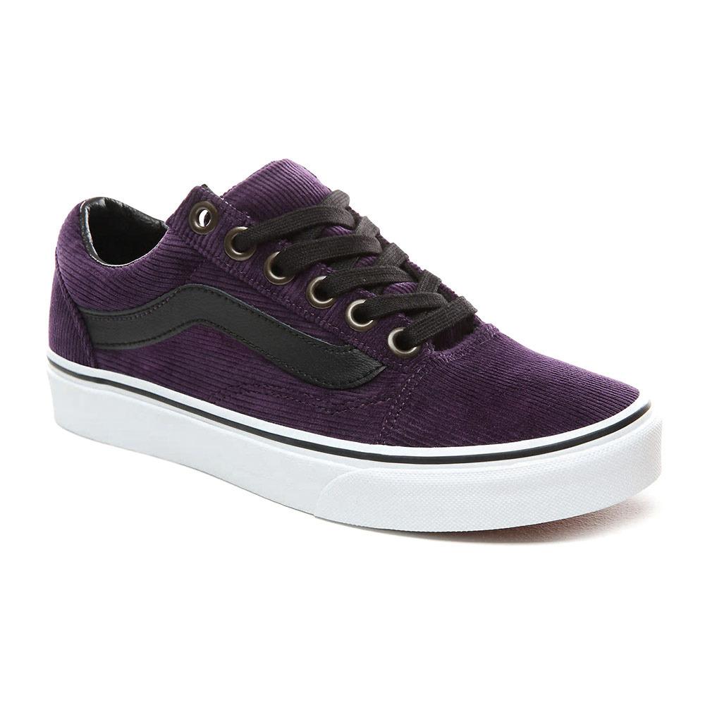 vans femme chaussure violet
