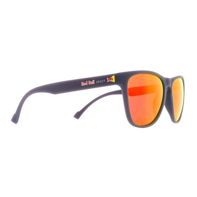 RED BULL - Bull SPARK - Gafas de sol polarizadas dark blue/brown red mirror