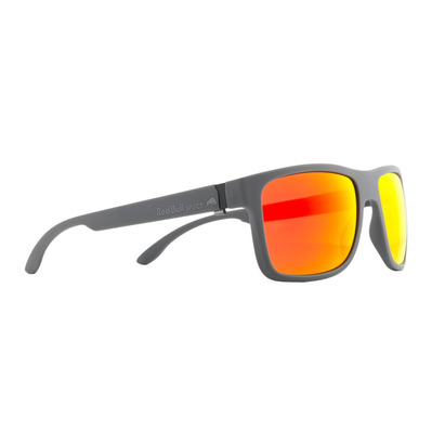 RED BULL - WING1 - Gafas de sol polarizadas dark grey/smoke red mirror