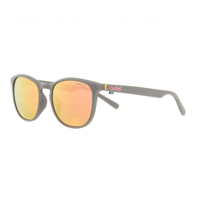 RED BULL - STEADY - Lunettes de soleil polarisées warm grey/brown peach mirror