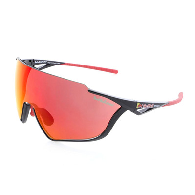RED BULL - PACE - Gafas de sol black/smoke red mirror + Lentes suplementarias