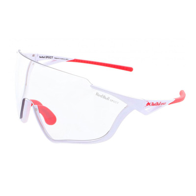 RED BULL - PACE - Lunettes de soleil photochromique white/transparent