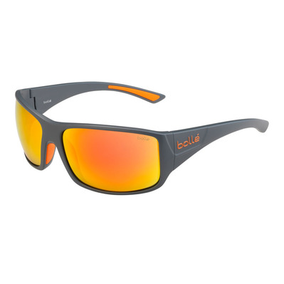 BOLLE - TIGERSNAKE MATTE COOL GRAY HD POLARIZED BROWN FIRE Unisexe Gris