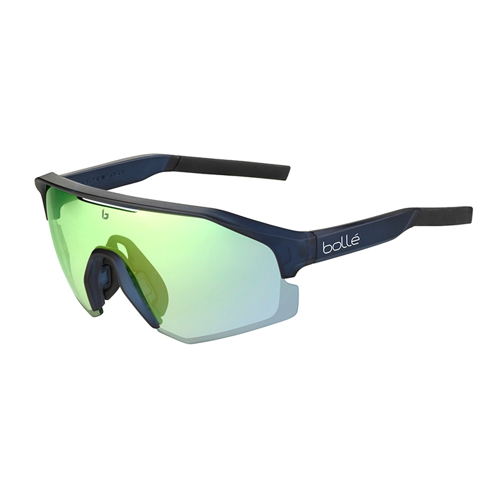 BOLLE - Bolle LIGHTSHIFTER - Lunettes de soleil photochromique matte crystal/navy/phantom clear green