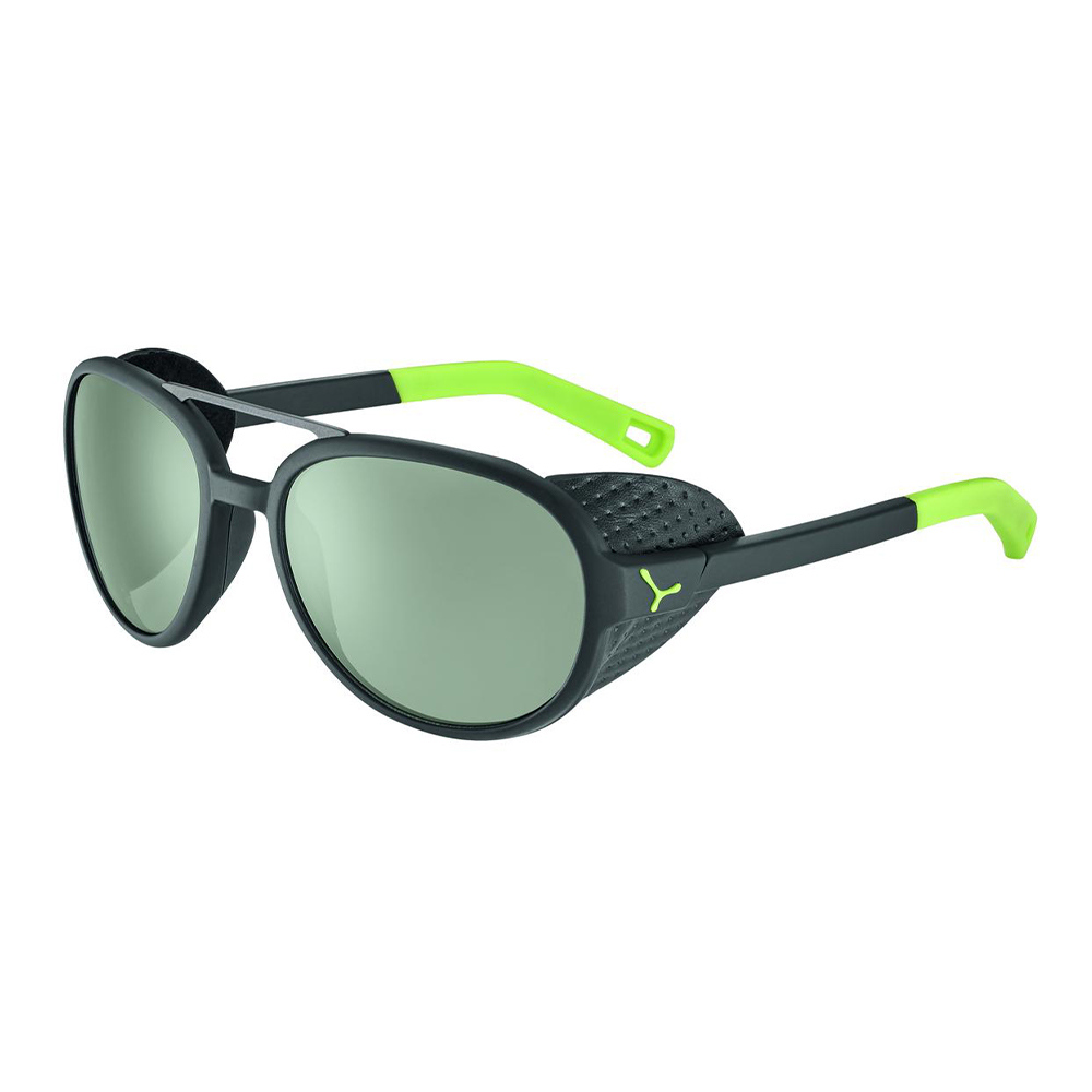 CEBE - SUMMIT MATT BLACK LIME Zone Vario Green Cat.2-4 Silver AF UNISEX Noir/Vert