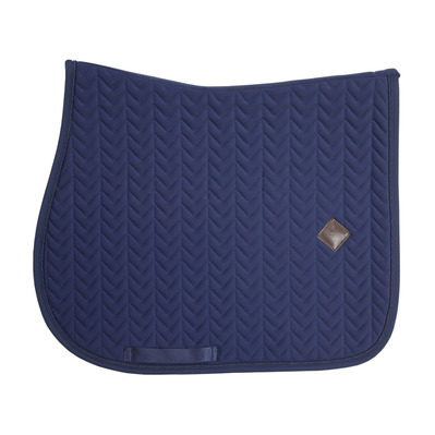 KENTUCKY - FISHBONE - Tapis jumping navy