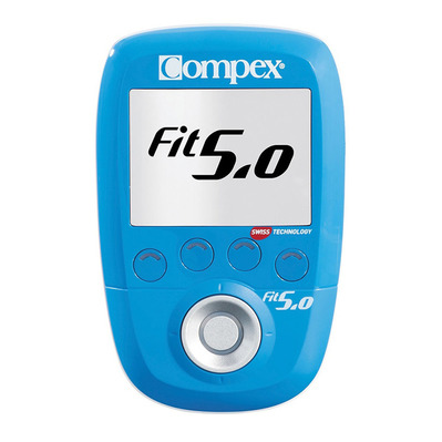 COMPEX - FIT 5.0 WIRELESS - Électrostimulateur bleu