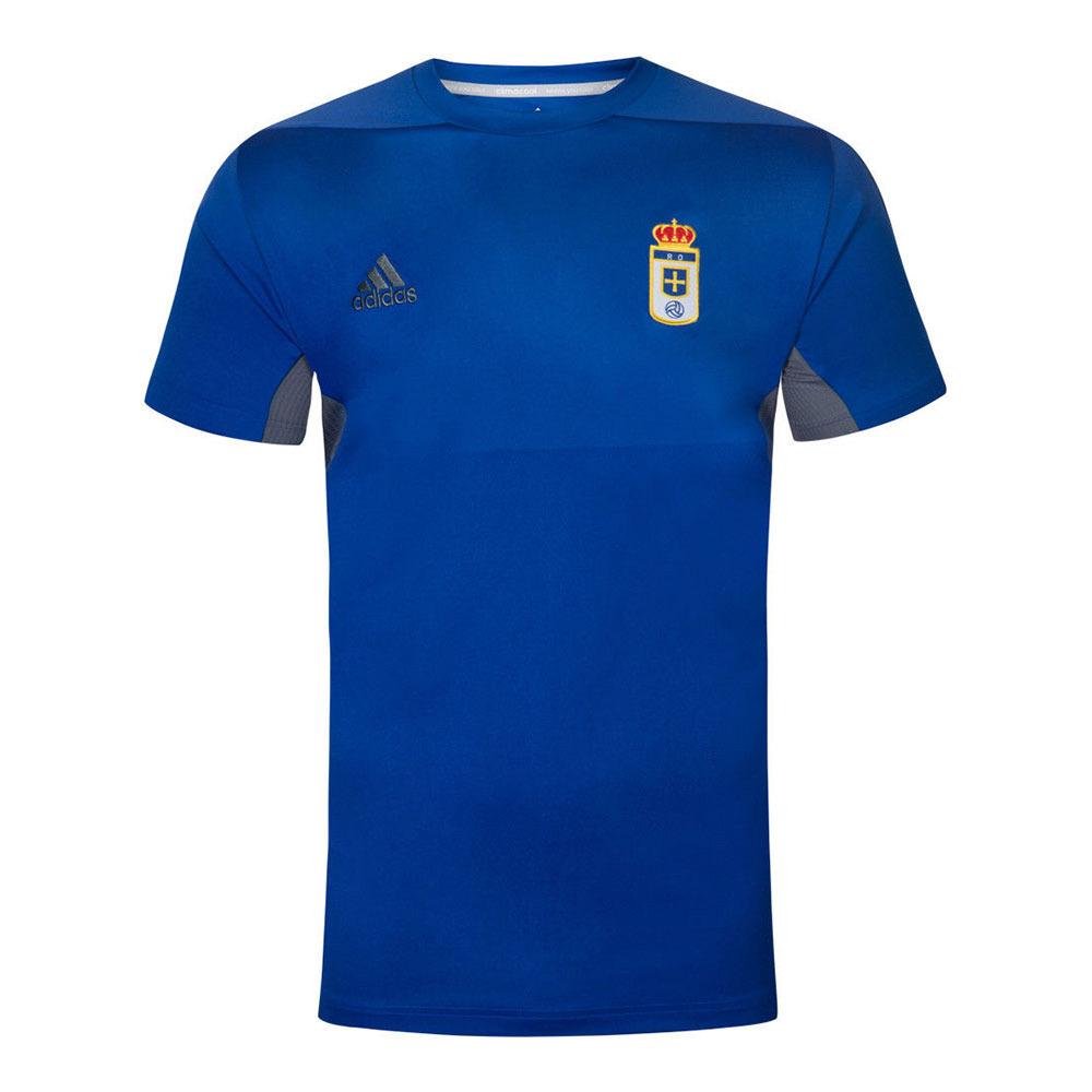 curso Lo dudo Más lejano  ADIDAS NIKE FILA REEBOK Adidas OVIEDO REAL - Camiseta hombre azul - Private  Sport Shop