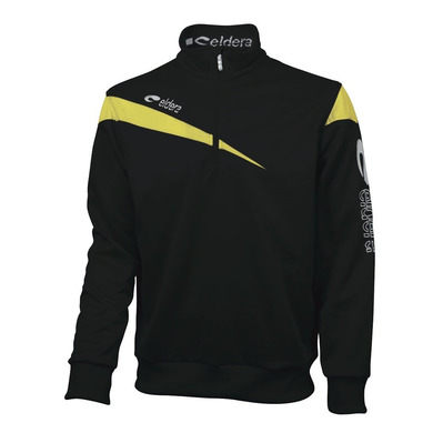 ELDERA - VICTOIRE - Sweatshirt - black/yellow