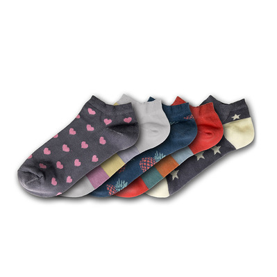 FUNKY STEPS - FSA391 - Socks x5 Women's - mixed