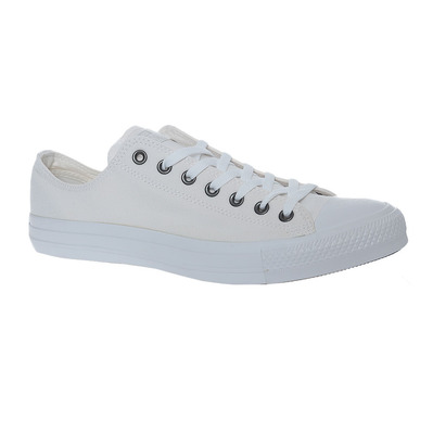 CONVERSE - CHUCK TAYLOR ALL STAR CANVAS - Shoes - Men's - white monochrome