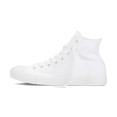 CONVERSE - CHUCK TAYLOR ALL STAR CANVAS HIGH - Shoes - Men's - white monochrome