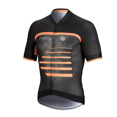 BICYCLE LINE - PRO - Camiseta hombre orange/black