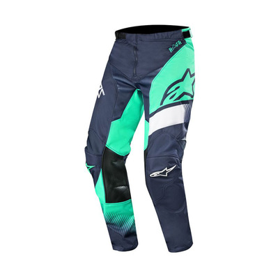 alpinestars - RACER SUPERMATIC - Pants - Men's - dark navy/teal/white