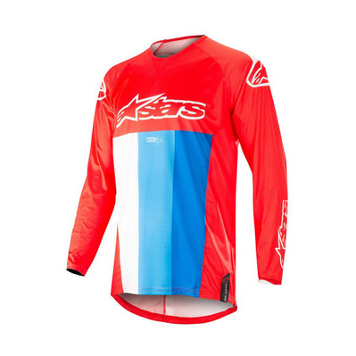 alpinestars - TECHSTAR VENOM - Jersey - Men's - red/white/blue