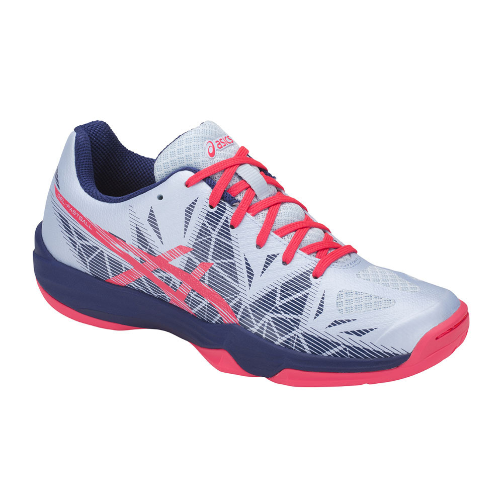Contaminado importar Emperador  ASICS INDOOR SPORTS Asics GEL-FASTBALL 3 - Handball Shoes - Women's - soft  sky/diva pink - Private Sport Shop