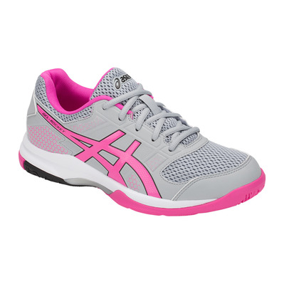 ASICS - GEL-ROCKET 8 - Volleyball Shoes - Women's - mid grey/pink glo