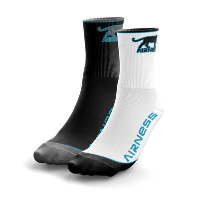 AIRNESS - TECHNIQUE - Socks x2 Men's - black/turquoise