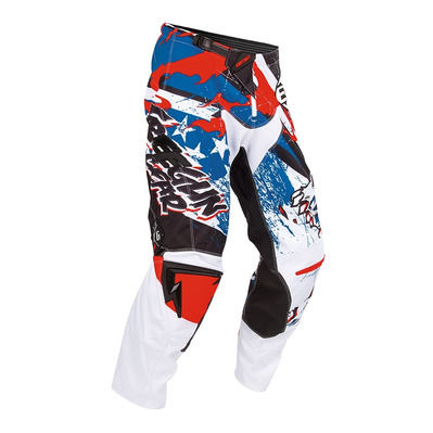FREEGUN BY SHOT - CONTACT - Pantalon Homme red/blue