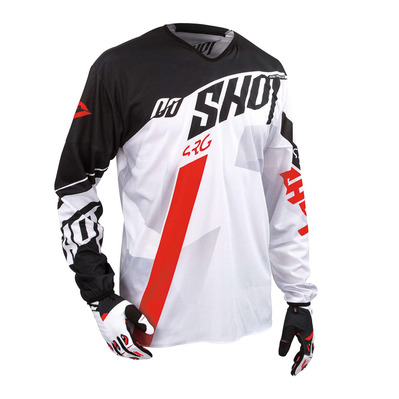 SHOT - SYSTEM - Maillot Homme black/red