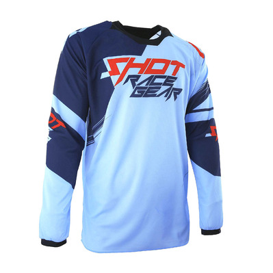 SHOT - CLAW - Maillot Homme blue/red