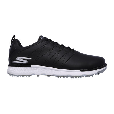 SKECHERS - GO GOLF ELITE V.3 - Shoes - Men's - black leather/white trim