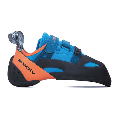 EVOLV - SHAMAN - Climbing Shoes - blue/orange