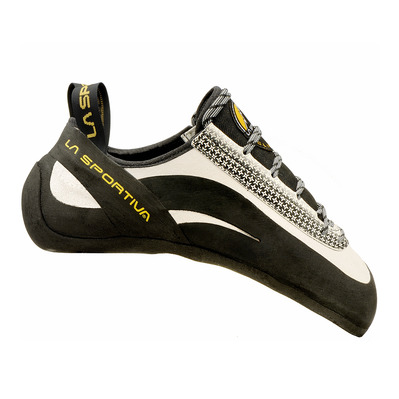 LA SPORTIVA - MIURA - Climbing Shoes - white/black