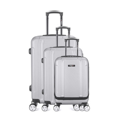 BLUESTAR - BALTIMORE 35L/67L/100L - Valises x3 grey