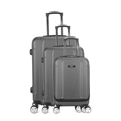 BLUESTAR - BALTIMORE 35L/67L/100L - Valises x3 grey f
