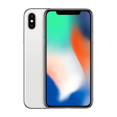 APPLE - iPhone X 64Go - Smartphone silver - Grade A+