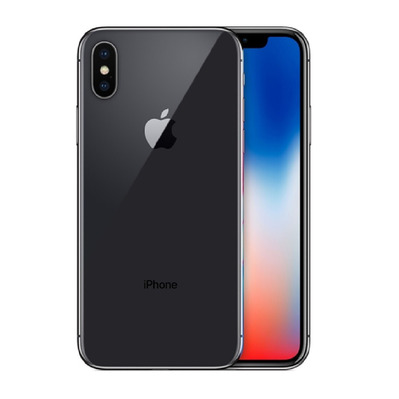APPLE - iPhone X 256Go - Smartphone sideral grey - Grade A+