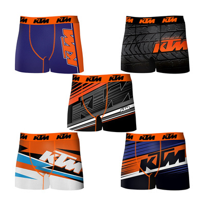 KTM - T095-1 - Boxers x5 Men's multicolour