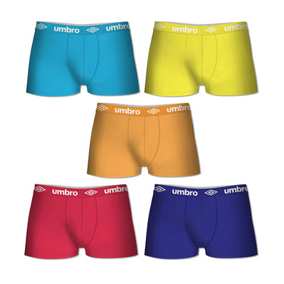 UMBRO - T619-1 - Boxers x5 Men's - multicolour