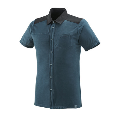MILLET - CLOUD PEAK WOOL 2019 - Chemise Homme orion blue