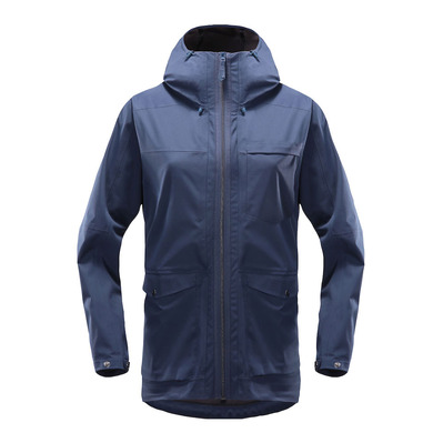 HAGLÖFS - Haglöfs ECO PROOF - Jacket - Women's - tarn blue
