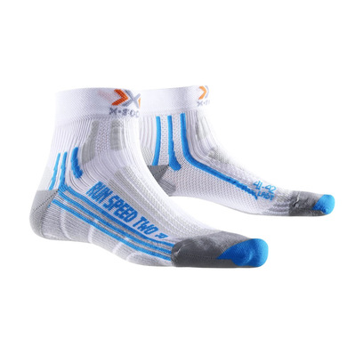 XSOCKS - X Socks RUN SPEED TWO - Socks - Women's - white/turquoise