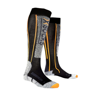 XSOCKS - X Socks SKI ADRENALINE - Socks - black/orange
