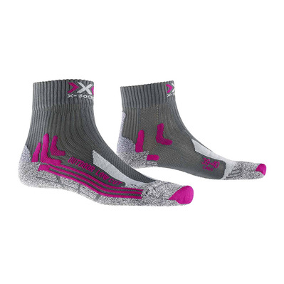 XSOCKS - X Socks TK OUT LOW CUT - Socks - Women's - anthracite/fuchsia