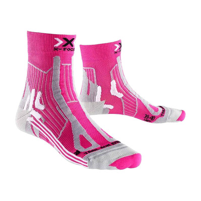 XSOCKS - X Socks TRAIL ENERGY - Socks - Women's - pink/grey marl