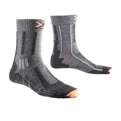 XSOCKS - X Socks TREK MERINO LIGHT - Socks - Men's - anthracite